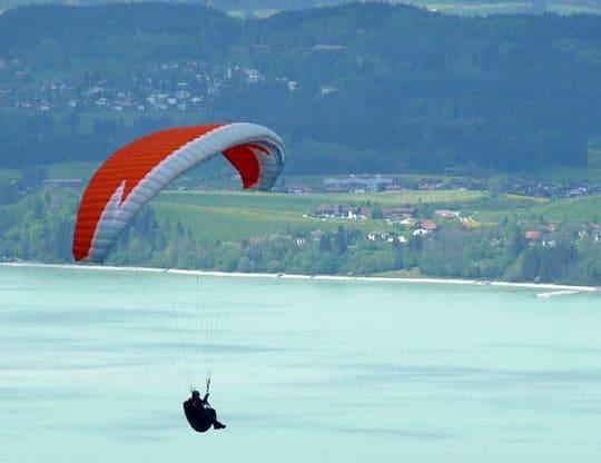 Höhenflugkurs See Fliegen