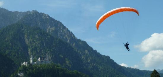 Die Gleitschirm Flugschule im Allgäu